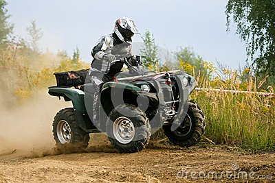 ATV Quad Adventure Editorial Stock Image