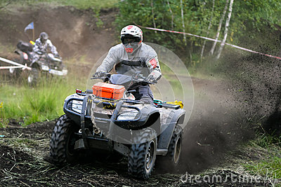 ATV Quad Extreme Race