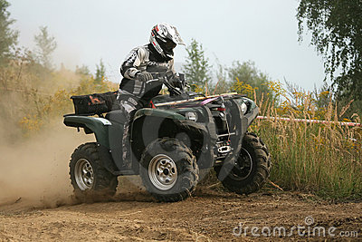 ATV Quad Race Editorial Image