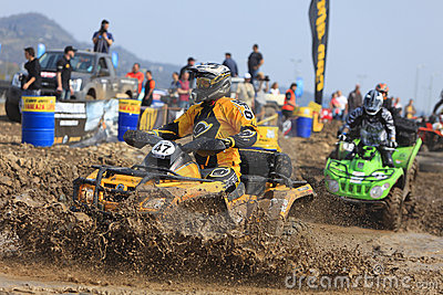 ATV race Editorial Stock Photo