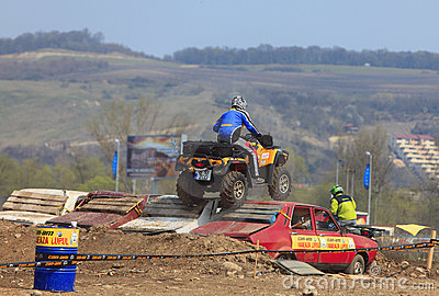 ATV race Editorial Image