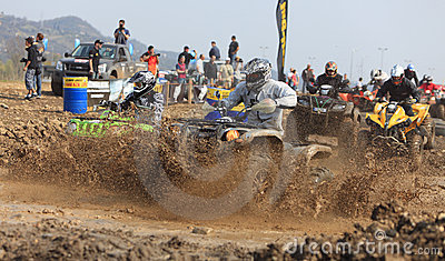 ATV race Editorial Photography
