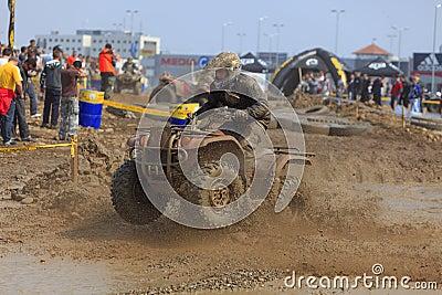 ATV Rennen Redaktionelles Bild