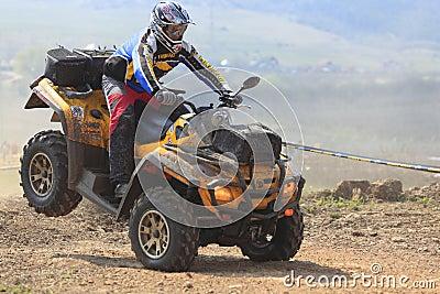 ATV Rennen Redaktionelles Foto