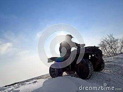 ATV rider.