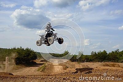 Atv rider 2 Jumping