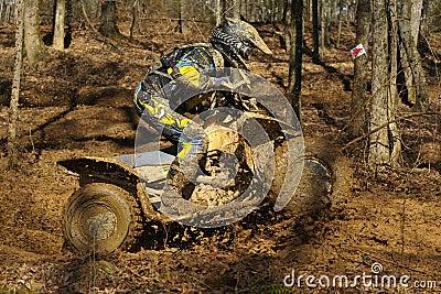 ATV woods racer