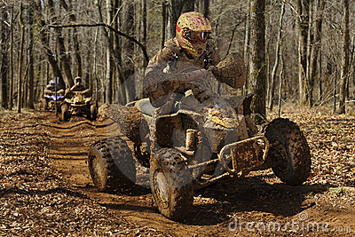 ATV woods racing 2
