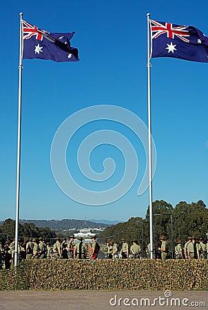 AU army