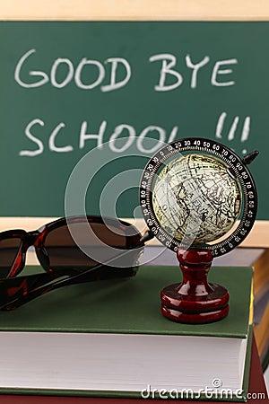 Au-revoir école