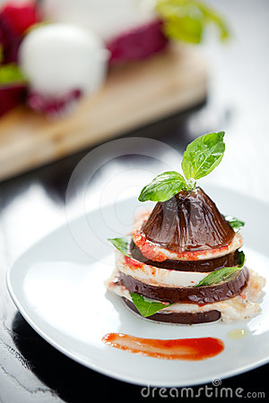 Aubergine italienne Parmiggiana