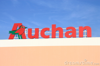 Auchan Editorial Stock Photo