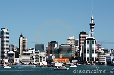 Auckland City CBD, Sky Tower & Waterfront