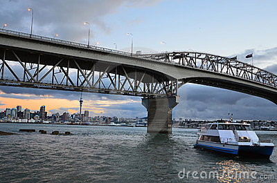 Auckland City and Harbor Bridge