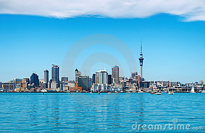 Auckland city, New Zealand Editorial Image