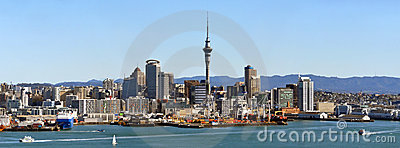 Auckland City Panorama, New Zealand