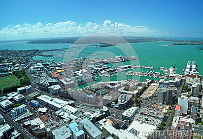 Auckland - City Of Sails Panorama, New Zealand