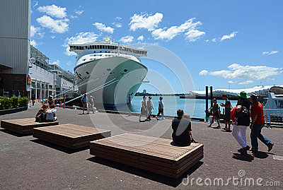 Auckland Cityscape Editorial Photography