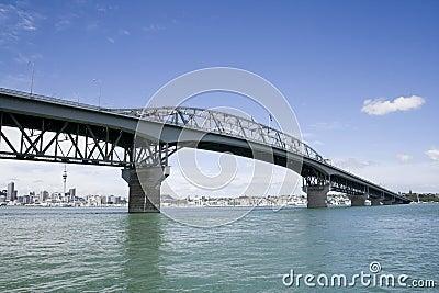 Auckland Harbour Bridge & City