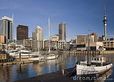 Auckland - New Zealand Editorial Stock Photo