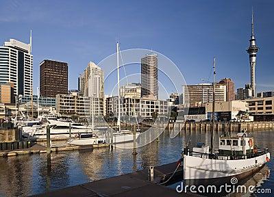 Auckland - New Zealand Editorial Stock Photo