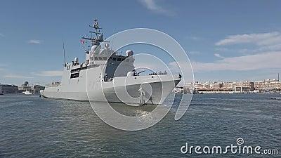 'Audaz', el buque español de patrulla marítima