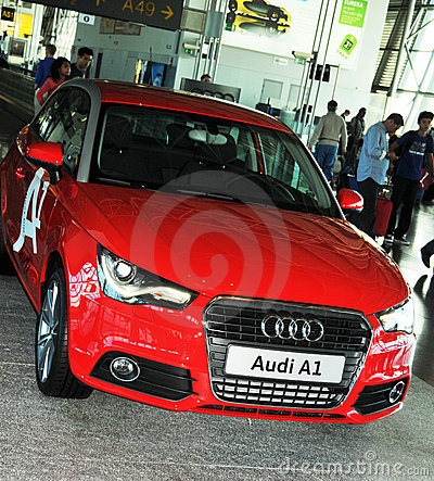 Audi A1 Editorial Image