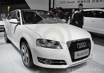 Audi A3 Editorial Stock Image