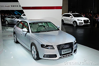 Audi A4L Editorial Photography