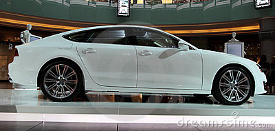 Audi A7 Editorial Stock Image