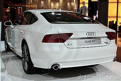 Audi A7 Editorial Image