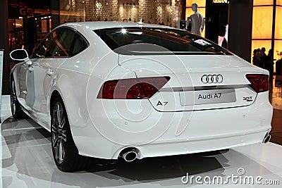 Audi A7 Editorial Image