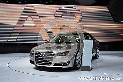 Audi A8 Editorial Image