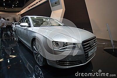 Audi A8 Hybrid Editorial Photography