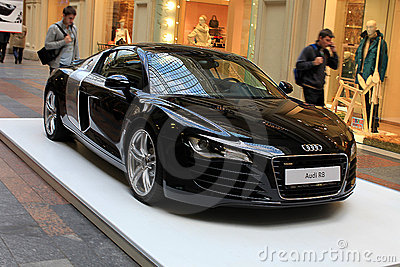 Audi car exhibition in GUM, Moscow