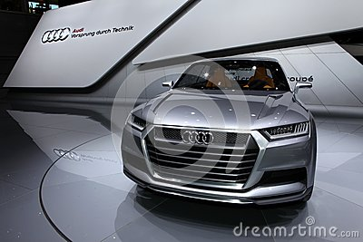 Audi Crosslane Editorial Stock Image