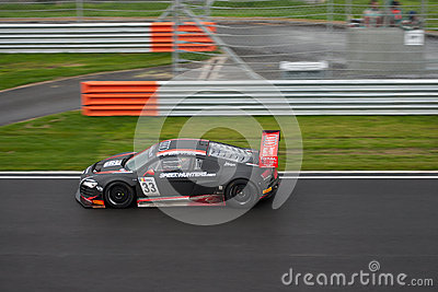 Audi FIA GT1 at race Editorial Image