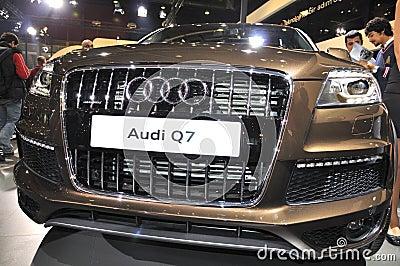 Audi Q7 Editorial Image