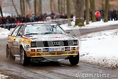 Audi Quattro Editorial Image