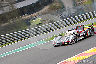 Audi R18 Ultra Editorial Stock Image