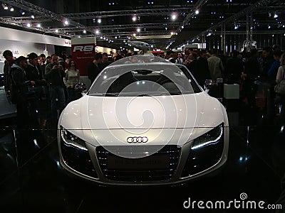 Audi R8 Editorial Stock Image