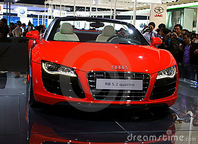 Audi r8 Editorial Image