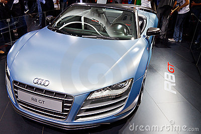 Audi R8 Editorial Photography