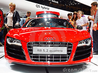 Audi R8 Editorial Stock Image