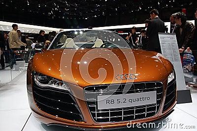 Audi R8 5.2 Editorial Photo
