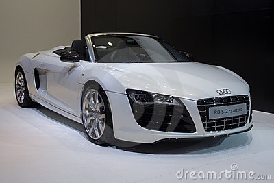 Audi r8 5.2 quattro carg Editorial Stock Photo