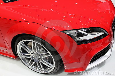 Audi R8 on 64rd IAA Editorial Photography