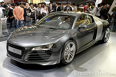 Audi r8 Immagine Stock Editoriale