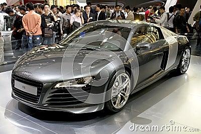 Audi r8 Редакционное Стоковое Изображение