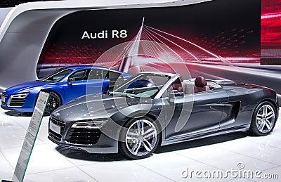 Audi R8 cabrio Editorial Image
